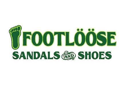 The Footloose Sandals and Shoes logo.