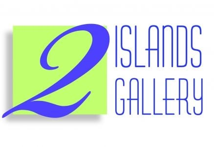 2 Islands Gallery logo