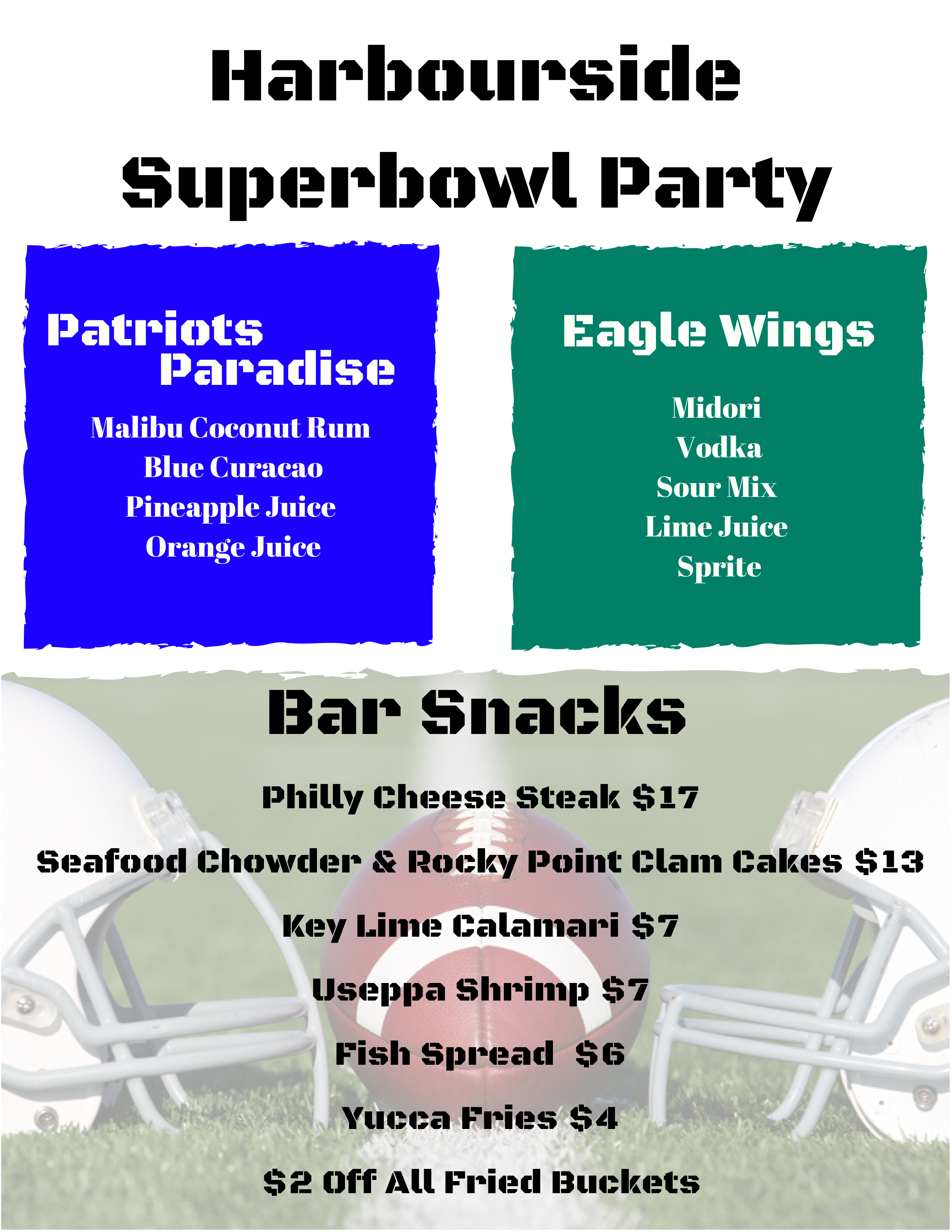 HarboursideSuperbowl Party
