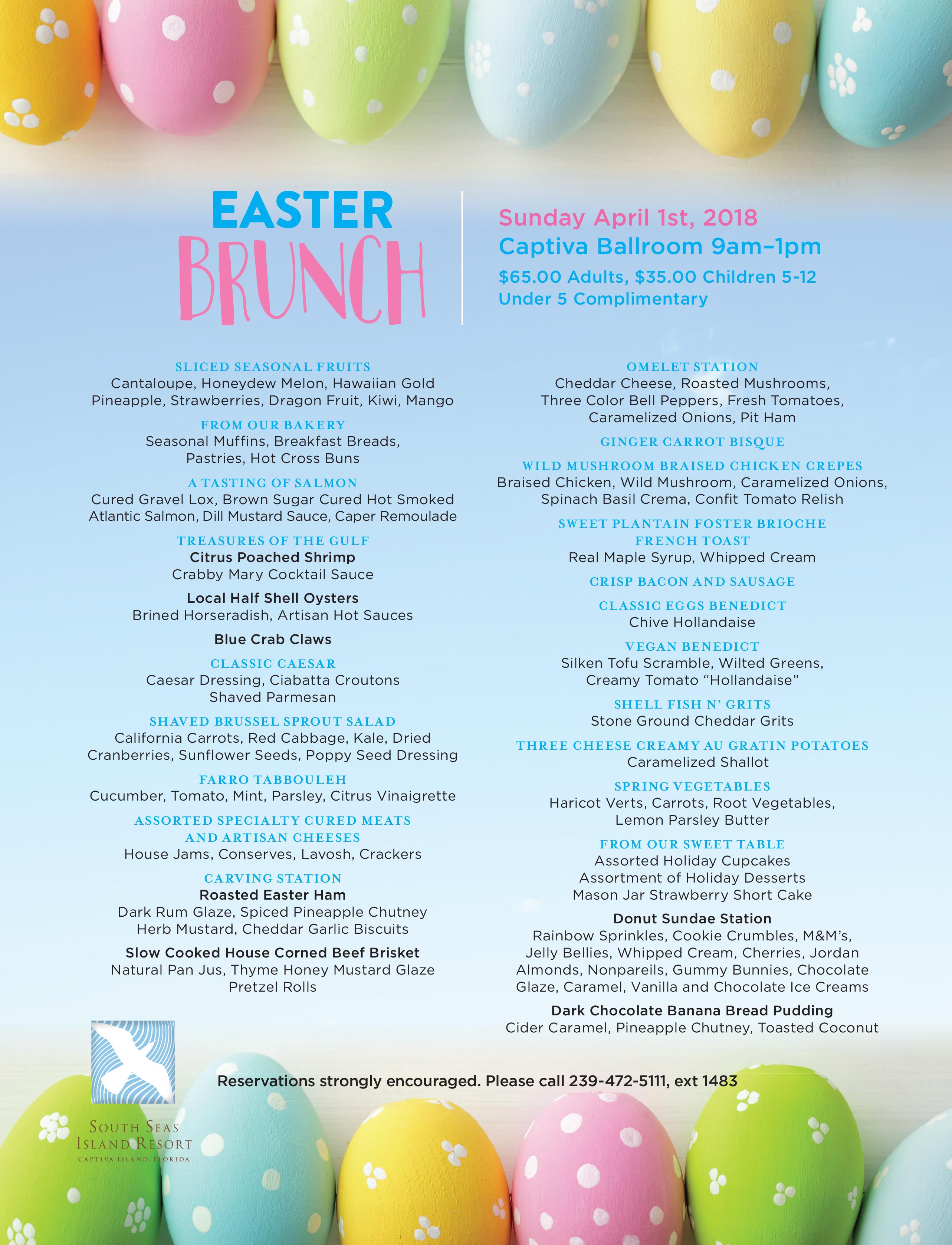 Easter brunch 2018 publicscrutiny Choice Image
