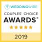 WeddingWire Couples Choice Award 2019